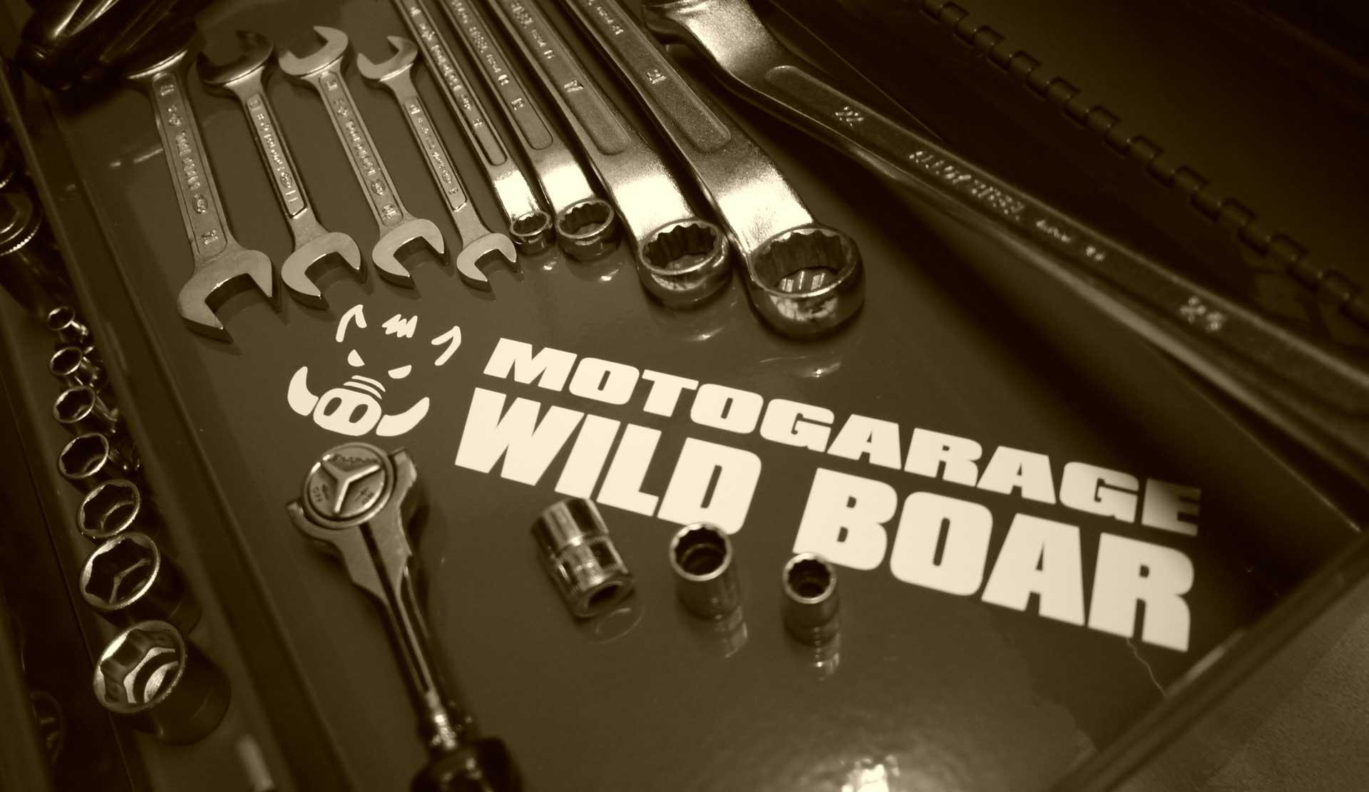 MOTOGARAGE WILD BOAR